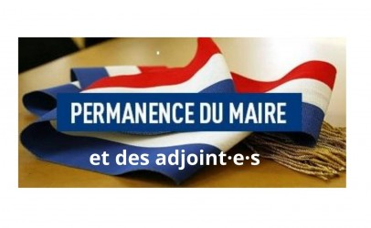 PERMANENCE MAIRE/ADJOINT·E·S
